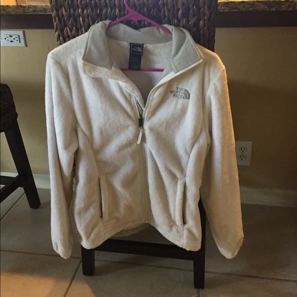 09467e2c9 North face women's full zip white fleece